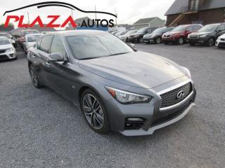 Used 2016 Infiniti Q50 300 Awd for sale in Beauport, QC