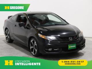 Used 2015 Honda Civic SI MAGS BLUETOOTH for sale in St-Léonard, QC