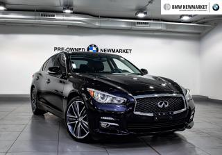 Used 2015 Infiniti Q50 AWD -1OWNER|NO ACCIDENTS|NAV|BACK UP CAM| for sale in Newmarket, ON