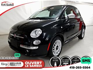 Used 2013 Fiat 500 Lounge A/c for sale in Québec, QC