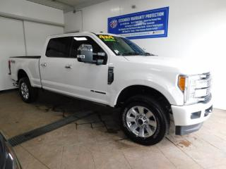 Used 2018 Ford F-250 Super Duty SRW PLATNIUM LEATHER NAVI *DIESEL* for sale in Listowel, ON
