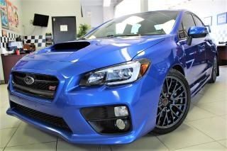 Used 2017 Subaru WRX STI Sport $147.93 WEEKLY! $0 DOWN! FULLY LOADED !!! CERTIFIED for sale in Bolton, ON