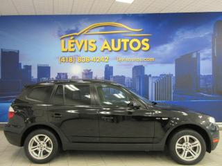 Used 2008 BMW X3 3.0 I XDRIVE TOIT PANORAMIQUE for sale in Lévis, QC