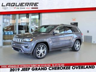 Used 2019 Jeep Grand Cherokee OVERLAND 4X4 for sale in Victoriaville, QC