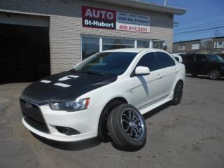 Used 2011 Mitsubishi Lancer RALLIART AWC for sale in St-Hubert, QC