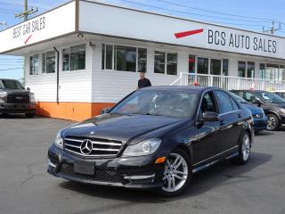 Used 2014 Mercedes-Benz C 300 Intuitive All Wheel Drive, Navigation, Sunroof for sale in Vancouver, BC