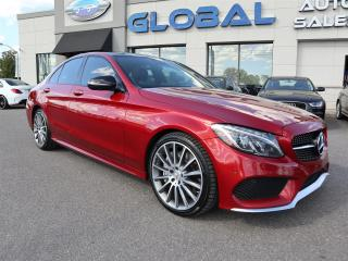 Used 2017 Mercedes-Benz C43 FULL POWER GROUP 362 HP. for sale in Ottawa, ON