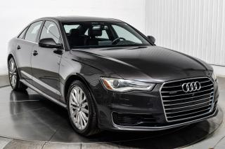 Used 2016 Audi A6 Quattro 2.0t Cuir for sale in Île-Perrot, QC