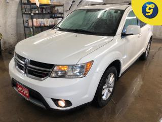 Used 2016 Dodge Journey SXT * 7 Passenger * U connect touchscreen * Phone connect * Voice recognition * Alloy Wheels * Push Button Ignition * Roof Rack * Power 6Way Driver Se for sale in Cambridge, ON