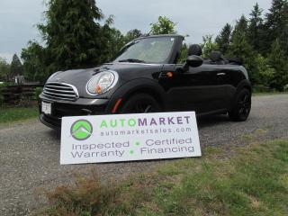 Used 2014 MINI Cooper LIKE NEW, AUTO, INSP, BCAA MBSHP FINANCING, WARR for sale in Surrey, BC