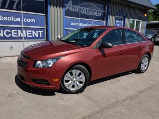 Used 2012 Chevrolet Cruze LS A/C for sale in Boisbriand, QC