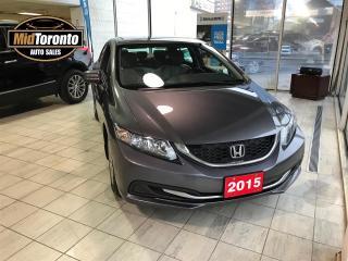 Used 2015 Honda Civic LX Sedan for sale in North York, ON