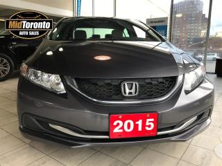 Used 2015 Honda Civic LX Sedan | One Owner | No Accidents | Honda Serviced for sale in North York, ON