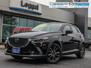 Used 2016 Mazda CX-3 GT for sale in Burlington, ON