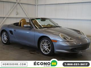 Used 2003 Porsche Boxster CABRIOLET A/C-CUIR for sale in St-Léonard, QC