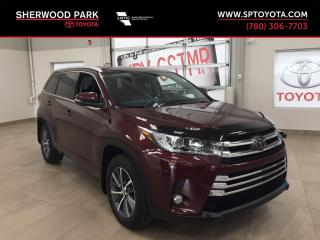 Used 2018 Toyota Highlander XLE for sale in Sherwood Park, AB