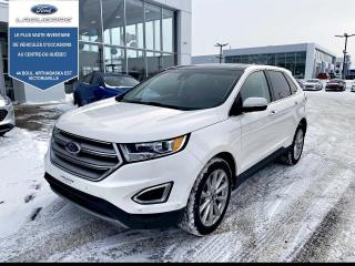Used 2017 Ford Edge TITANIUM AWD CUIR for sale in Victoriaville, QC