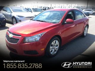 Used 2014 Chevrolet Cruze LT + MAGS + CAMÉRA + TRES PROPRE +WOW ! for sale in Drummondville, QC