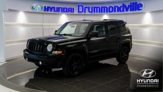 Used 2014 Jeep Patriot 4X4 + 50 018 KM + BLACK PACKAGE + WOW !! for sale in Drummondville, QC