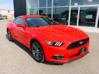 Used 2017 Ford Mustang EcoBoost, B/u Camera, Bluetooth for sale in Ingersoll, ON