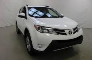 Used 2017 Toyota RAV4 LIMITED AWD HYBRIDE for sale in Saint-hubert, QC