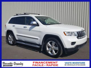 Used 2013 Jeep Grand Cherokee Overland-Nav-Cuir for sale in Granby, QC