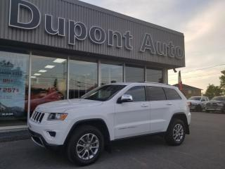 Used 2015 Jeep Grand Cherokee 4 RM, 4 portes, Limited for sale in Alma, QC