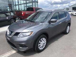 Used 2016 Nissan Rogue S, TA, CERTIFIE, A/C, 1.9% for sale in Lévis, QC