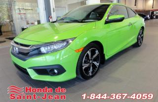 Used 2016 Honda Civic Touring 2 portes CVT Navi Cuir Toit Came for sale in St-Jean-Sur-Richelieu, QC