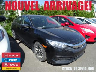 Used 2017 Honda Civic Lx+regvit+bluetooth for sale in Drummondville, QC