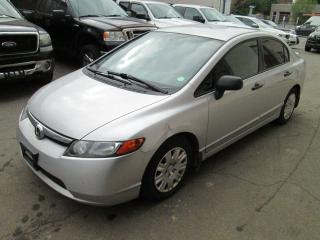 Used 2008 Honda Civic 1.8L Three sets of keys| amazing service record for sale in Toronto, ON