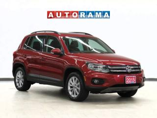 Used 2015 Volkswagen Tiguan Comfortline Leather Panoramic Sunroof for sale in Toronto, ON
