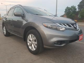 Used 2013 Nissan Murano LE-Leather-SunMoon Roof- Bk Up Cam-Bluetooth-Alloy for sale in Scarborough, ON