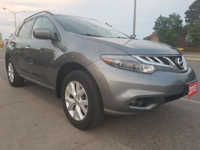 2013 Nissan Murano LE-Leather-SunMoon Roof- Bk Up Cam-Bluetooth-Alloy