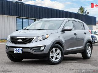 Used 2016 Kia Sportage LX,AWD,ONE OWNER,ECO,B.TOOTH,HEATED SEATS for sale in Barrie, ON