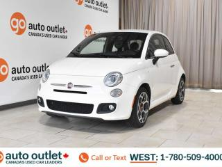 Used 2016 Fiat 500 Sport, 1.4L I4, Fwd, Leather/Cloth seats, Bluetooth for sale in Edmonton, AB