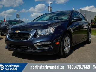 Used 2015 Chevrolet Cruze 1LT AUTO/BLUETOOTH/HEATEDSEATS for sale in Edmonton, AB