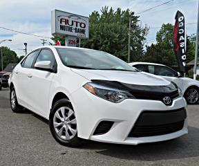 Used 2016 Toyota Corolla Berline 4 portes, boîte automatique, A/C for sale in Repentigny, QC