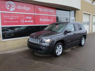 Used 2015 Jeep Compass NORTH 4WD / HEATED SEATS for sale in Edmonton, AB