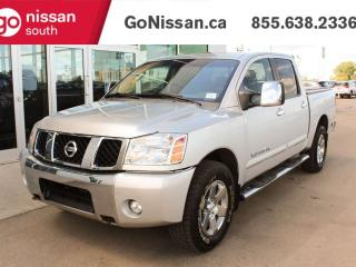 Used 2007 Nissan Titan LE PACKAGE WITH LEATHER ROOF A FULL REAR SLIDER !!! for sale in Edmonton, AB
