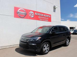 Used 2016 Honda Pilot EX-L/AWD/ONE OWNER/LEATHER/DVD for sale in Edmonton, AB