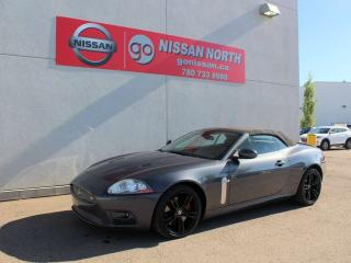 Used 2007 Jaguar XK XKR/CONVERTIBLE/RARE CAR/420 HP V8 for sale in Edmonton, AB