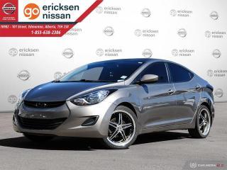 Used 2013 Hyundai Elantra GL: HEATED SEATS, CRUISE, POWER OPTIONS for sale in Edmonton, AB
