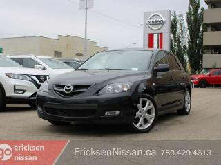 Used 2008 Mazda MAZDA3 GS HATCHBACK, LOW KMS, NO ACCIDENTS for sale in Edmonton, AB