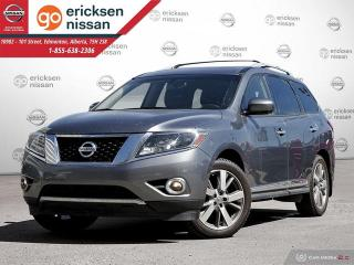 Used 2015 Nissan Pathfinder Platinum AWD FULLY LOADED, NO ACCIDENTS 360 CAMERA for sale in Edmonton, AB