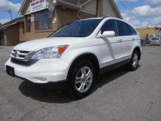 Used 2010 Honda CR-V EX-L AWD Loaded Leather Sunroof Certified ONLY 91K for sale in Rexdale, ON