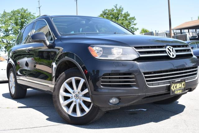 2012 Volkswagen Touareg TDI- LEATHER - NAVI - NO ACCIDENTS