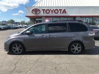 Used 2016 Toyota Sienna SE TECH. ALLOYS AUTO LEATHER MOONROOF SKIRT PKG for sale in Cambridge, ON