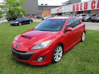Used 2012 Mazda MAZDASPEED3 Mazdaspeed3~TURBO~6 SPEED~CERTIFIED for sale in Toronto, ON