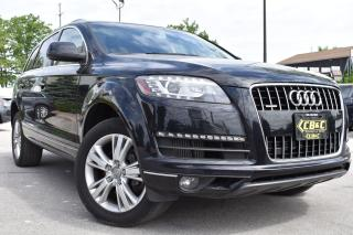Used 2013 Audi Q7 3.0L TDI - BLUETOOTH - BACKUP CAM - NO ACCIDENTS for sale in Oakville, ON